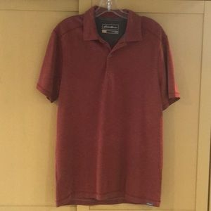 Eddie Bauer short sleeve polo....active fit